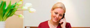 Empfang der Zahnarztpraxis Margaret Breuell